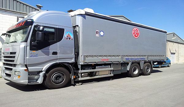 Lonas para camiones / click aquí para más info.
