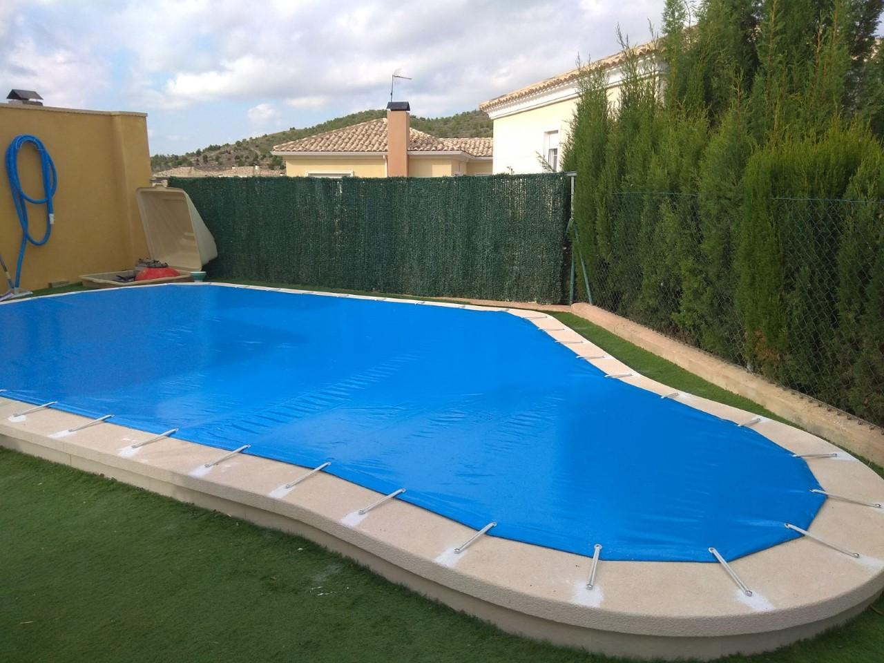 Lona de piscina for Lona interior piscina desmontable